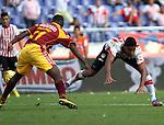 Atletico Junior  empato 1x1 con deportes Tolima en las semifinales de la liga postobon torneo finalizacion del futbol  colombiano