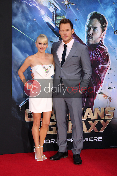 Anna Faris, Chris Pratt<br />