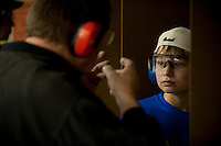 """Venture Scouts riflery instruction. From a picture story I worked on called """"Young Guns."""""""