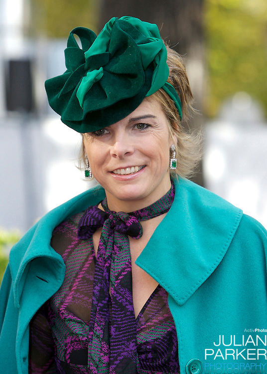Princess Laurentien of The Netherlands attends The Christening of Princess Ariane of The Netherlands, The youngest daughter of Crown Prince Willem Alexander and Crown Princess Maxima of The Netherlands at The Kloosterkerk in The Hauge, Holland.