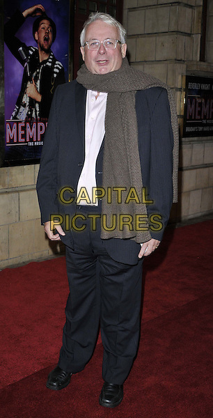 LONDON, ENGLAND - OCTOBER 23: Christopher Biggins attends the &quot;Memphis&quot; press night performance, Shaftesbury Theatre, Shaftesbury Avenue, on Thursday October 23, 2014 in London, England, UK. <br /> CAP/CAN<br /> &copy;Can Nguyen/Capital Pictures