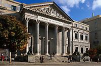 Cortes (Parlamentsgebaeude) in Madrid, Spanien