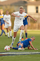 SAN ANTONIO, TX - SEPTEMBER 5, 2014: The McNeese University Cowgirls fall to the University of Texas at San Antonio Roadrunners 4-3 at the UTSA Park West Athletics Complex. (Photo by Jeff Huehn)