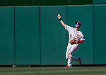 28 August 2016: Washington Nationals outfielder Trea Turner in action against the Colorado Rockies at Nationals Park in Washington, DC. The Rockies defeated the Nationals 5-3 to take the rubber match of their 3-game series. Mandatory Credit: Ed Wolfstein Photo *** RAW (NEF) Image File Available ***