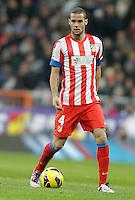 Atletico de Madrid's Mario Suarez during La Liga Match. December 02, 2012. (ALTERPHOTOS/Alvaro Hernandez)