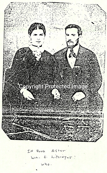 William Elliot Litzinger (1848)? and Mary Susan (McConnell) Litzinger?  - maybe 40 years old  -  maybe 1888?<br /> <br /> Conrad&gt;Leonard&gt;Simon&gt;Bernard&gt;Peter&gt;William Elliot