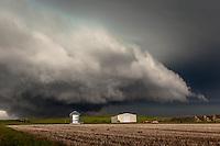 Severe thunderstorm in Montana