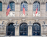 Boston Public Library in Copley Square, Boston, MA