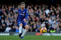 Jorginho of Chelsea in action during Chelsea vs Everton, Premier League Football at Stamford Bridge on 11th November 2018