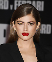 "HOLLYWOOD, CA - NOVEMBER 04: Valentina Sampaio attends the Premiere of FOX's ""Ford V Ferrari"" at TCL Chinese Theatre on November 04, 2019 in Hollywood, California.<br /> CAP/ROT/TM<br /> ©TM/ROT/Capital Pictures"