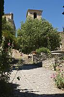 Europe/France/Rhône-Alpes/26/Drôme/Le Poët-Laval: Ancienne commanderie de l'ordre de Malte -  Chapelle Saint-Jean-des-Commandeurs