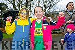 Tir na Nog Easter Festival - Under 12 Kids Fancy Dress Fun Run in Tralee Town Park were l-r  Rachel Prendeville and Lilly Collins