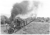 Engine 223 on freight at MP304 - Helper on rear.  Arriving Castleton.<br /> D&amp;RGW  Castleton - Baldwin Branch, CO  Taken by Thode, Jackson C. - pre 1941