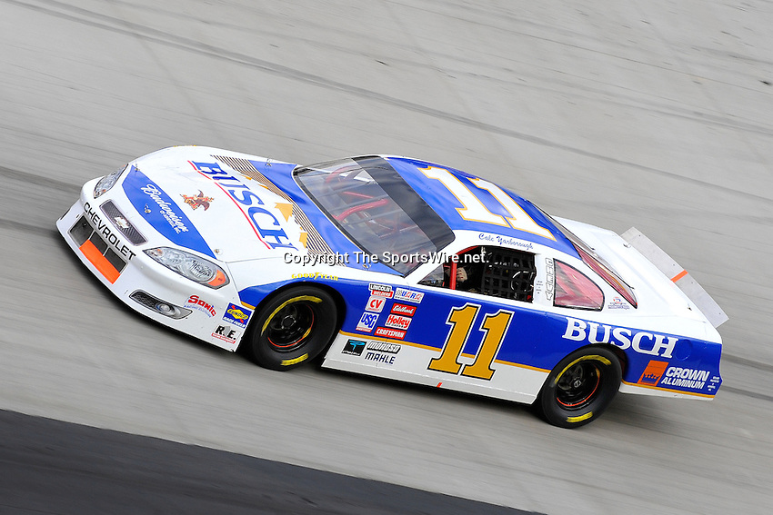 Mar 21, 2009; 6:29:10 PM; Bristol, Tn., USA; NASCAR Legends race for the Scotts Saturday Night Special at the Bristol Motor Speedway.  Mandatory Credit: (thesportswire.net)
