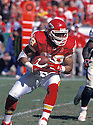 Kansas City Chiefs Tony Gonzalez (88) during a game from his 2002 season. Tony Gonzalez played for 17 years with 2 teams and was a 14-time Pro Bowler.
