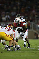 4 November 2006: Michael Okwo during Stanford's 42-0 loss to USC at Stanford Stadium in Stanford, CA.