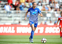 Boyds, MD - Saturday August 12, 2017: Tiffany Weimer during a regular season National Women's Soccer League (NWSL) match between the Washington Spirit and The Boston Breakers at Maureen Hendricks Field, Maryland SoccerPlex.