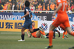 Shandong Luneng Taishan (CHN) vs Buriram United (THA) during the 2014 AFC Champions League Match Day 1 Group E match on 25 February 2014 at Jinan Olympic Sports Center Stadium, Jinan, China. Photo by Stringer / Lagardere Sports