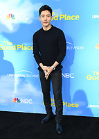 "07 June 2019 - North Hollywood, California - Manny Jacinto. FYC Event for NBC's ""The Good Place"" held at Saban Media Center at the Television Academy. <br /> CAP/ADM/BT<br /> ©BT/ADM/Capital Pictures"