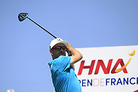 Mikko Korhonen (FIN) on the 3rd tee during Round 1 of the HNA Open De France at Le Golf National in Saint-Quentin-En-Yvelines, Paris, France on Thursday 28th June 2018.<br /> Picture:  Thos Caffrey | Golffile