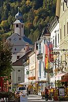 Oesterreich, Kaernten, Kuenstlerstadt Gmuend im Liesertal: Altstadt, Zentrum | Austria, Carinthia, artist town Gmuend at Lieser Valley: old town, centre