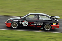 1992 British Touring Car Championship. #16 Dennis Leech (GBR). Partservice. Ford Sierra RS500.