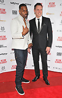 Richard Blackwood and Ben Pickering at the &quot;Welcome To Curiosity&quot; UK film premiere, Prince Charles Cinema, Leicester Place, London, England, UK, on Monday 04 June 2018.<br /> CAP/CAN<br /> &copy;CAN/Capital Pictures