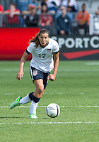 02 June 2013: U.S Women's National Soccer Team midfielder Tobin Heath #17 in action during an International Friendly soccer match between the U.S. Women's National Soccer Team and the Canadian Women's National Soccer Team at BMO Field in Toronto, Ontario.<br /> The U.S. Women's National Team Won 3-0.