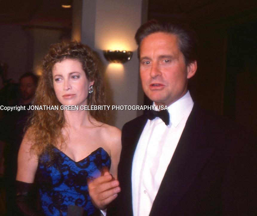 Michael Douglas &amp; Wife Deidre Douglas By<br /> Jonathan Green