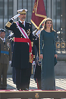 Spanish Royals attend Military Easter