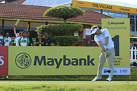 Soren Kjeldsen (DEN) on the 1st tee during Round 1 of the Maybank Championship at the Saujana Golf and Country Club in Kuala Lumpur on Thursday 1st February 2018.<br /> Picture:  Thos Caffrey / www.golffile.ie<br /> <br /> All photo usage must carry mandatory copyright credit (© Golffile | Thos Caffrey)