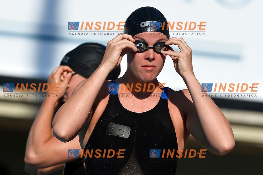 Femke Heemskerk Nederlan 100m Freestyle Women <br /> Roma 14/6/2013 Piscina del Foro Italico <br /> Nuoto 50mo trofeo Settecolli<br /> Settecolli 50th International swimming trophy <br /> Foto Andrea Staccioli Insidefoto