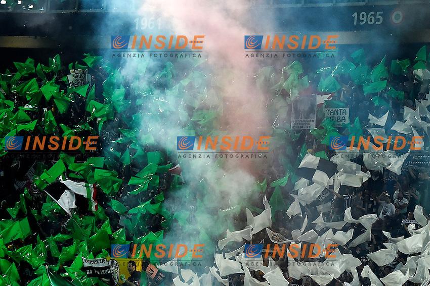 Festeggiamenti Tifosi Juventus per 32mo scudetto <br /> Supporters <br /> Torino 06-05-2014 Juventus Stadium - Football Calcio 2013/2014 Serie A, Juventus - Atalanta, Foto Andrea Staccioli / Insidefoto