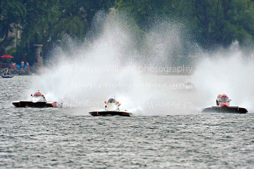 """Tom Thompson, A-52 """"Fat Chance Too"""", Karen Toulouse, A-7 """"Southern Magic"""" and Bobby Kennedy, A-47 """"Blitz-Krieg""""  (2.5 MOD class hydroplane(s)"""