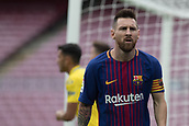 1st October 2017, Camp Nou, Barcelona, Spain; La Liga football, Barcelona versus Las Palmas; Leo Messi of FC Barcelona during the match