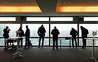 Nederland Amsterdam - 24 maart 2018 . 6de editie Open Toren Dag.  Verschillende historische en hedendaagse torens openen hun deuren. Uitzicht vanuit het ABN AMRO gebouw aan de Zuidas. Foto Berlinda van Dam / Hollandse Hoogte