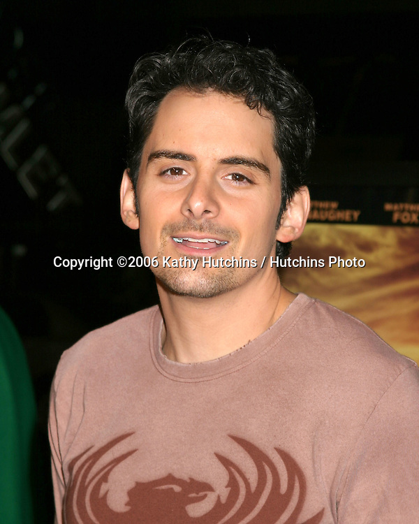 "Brad Paisley.""We Are Marshall"" Premiere.Grauman's Chinese Theater.Los Angeles, CA.December 14, 2006.©2006 Kathy Hutchins / Hutchins Photo."