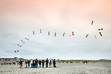 USA, Washington State, Long Beach Peninsula, International Kite Festival, Multiline Precision kite flying competition