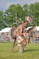 Traditional Warrior Dancer, Nanticoke Lenni-Lenapi Indian Pow Wow