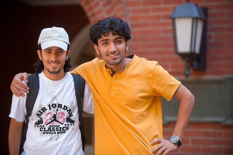 Mohammed Ahmed(yellow).and Khalefi Al-Naimi(white shirt)