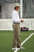 July 26th 2008:  Head Coach Dick Jauron of the Buffalo Bills during the second day of training camp at St. John Fisher College in Rochester, NY.  Photo Copyright Mike Janes Photography 2008.