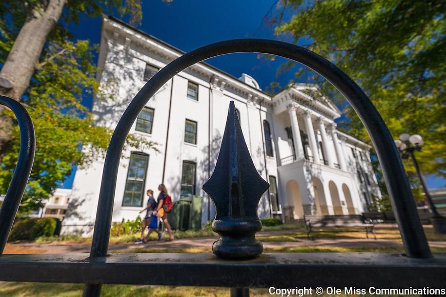 Lafayette county courthouse. Photo by Robert Jordan/Ole Miss Communications