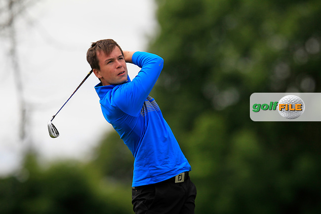 Cian Henry (Ballyhaunis) taking part in the Connacht Boys U18 Open, Roscommon Golf Club, Roscommon, Co Roscommon.<br /> Picture: Golffile \ Fran Caffrey