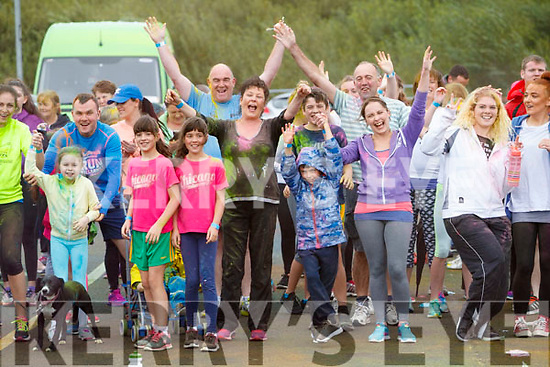 The Colour Dash 5km Colour Run, in aid of Crumlin Children's Hospital at Tralee Bay Wetlands, on Sunday morning last.
