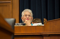United States Representative Virginia Foxx (Republican of North Carolina) delivers an opening statement prior to the start of United States Secretary of Education Betsy Devosí testimony before the House Committee on Education and Labor on April 10, 2019.. Photo Credit: Stefani Reynolds/CNP/AdMedia