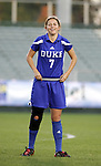 Duke's Darby Kroyer on Friday, November 4th, 2005 at SAS Stadium in Cary, North Carolina. The University of North Carolina Tarheels defeated the Duke University Blue Devils 2-1 in their Atlantic Coast Conference Tournament Semifinal game.