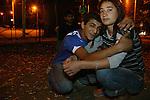 Tbilisi, GEORGIA.Ragazzi di strada a Tbilisi, capitale della Georgia. .La vita di Lika e dei suoi amici 2006-2008.
