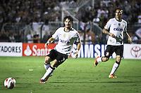 SÃO PAULO,SP,13 MARÇO 2013 - COPA LIBERTADORES AMÉRICA 2013 - CORINTHIANS (Bra) x THIJUANA (MEX) - Alexandre Pato jogador do Corinthians durante partida Corinthians x Thijuana válido pela 4º rodada da Copa Libertadore América 2013 no Estádio Paulo Machado de Carvalho (Pacaembu) na noite desta quarta feira (13).FOTO ALE VIANNA - BRAZIL PHOTO PRESS.