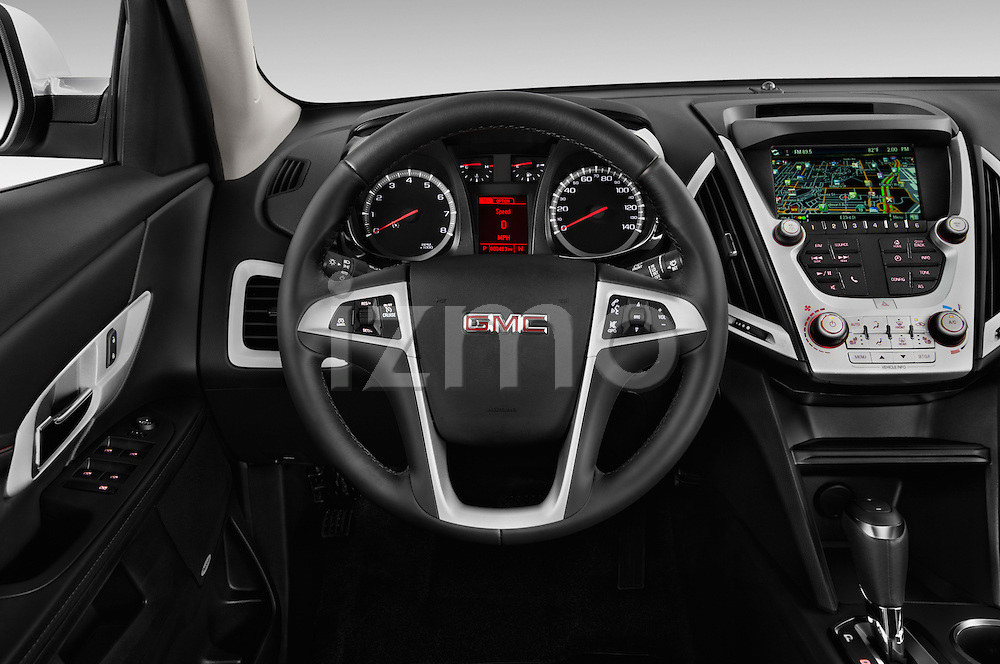 Car pictures of steering wheel view of a 2016 GMC Terrain SLT 5 Door SUV Steering Wheel