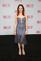 "9 August 2018-  Westwood, California - Guest. Premiere Of STX Films' ""Mile 22"" held at The Regency Village Theatre. Photo Credit: Faye Sadou/AdMedia"